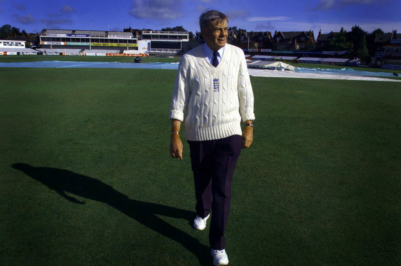 <strong>1983 World Cup</strong> | Harold 'Dickie' Bird became the first umpire to complete a 'hat-trick' of appearances in a World Cup final. He officiated with Tom Spencer in 1975 and with Barrie Meyer in 1979 and 1983. (Image: Reuters)