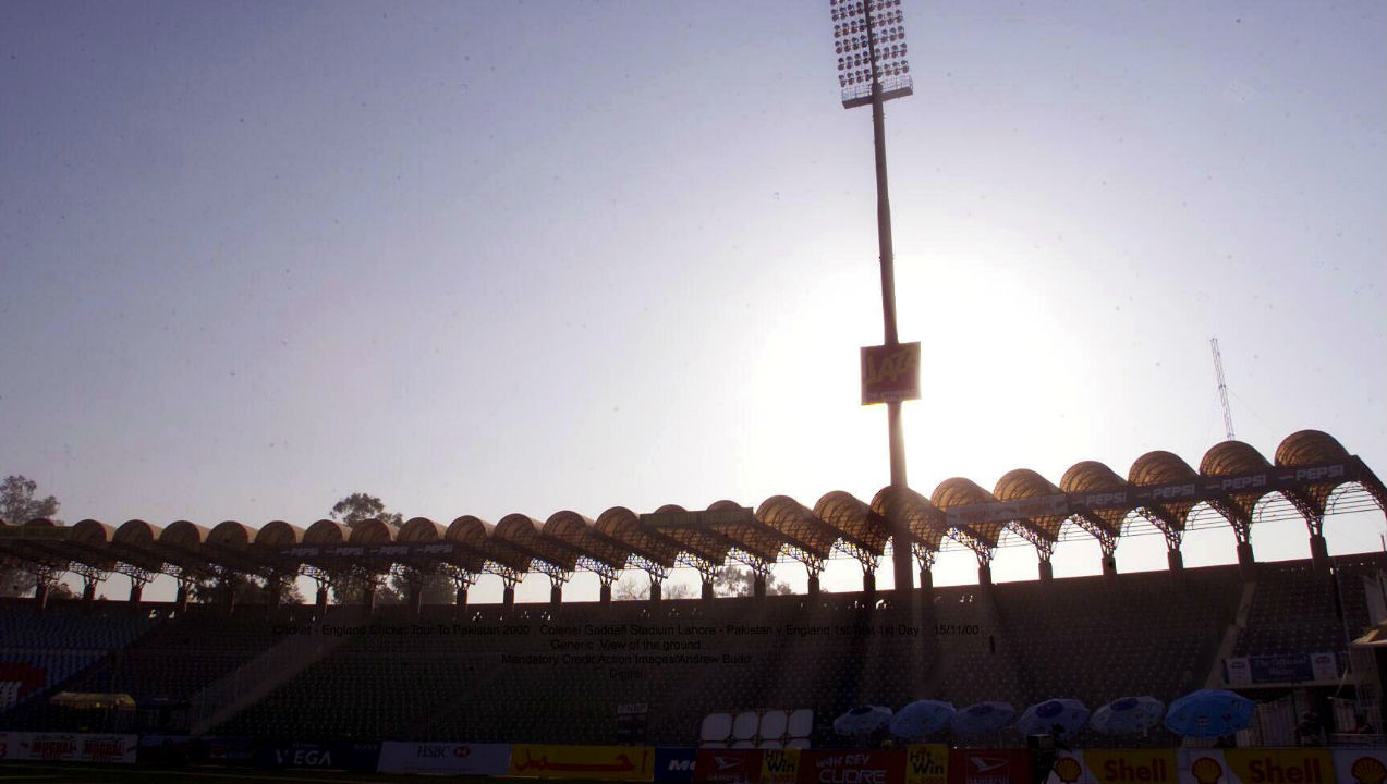 Gaddafi Stadium, Lahore (Final: 1996) | Established: 1959 | Capacity: 27,000 | Fact: The ground is designed by famous architect Nayyar Ali Dada, who modelled it on the Mughal School of red hand-laid brickwork and arches.(Image: Reuters)