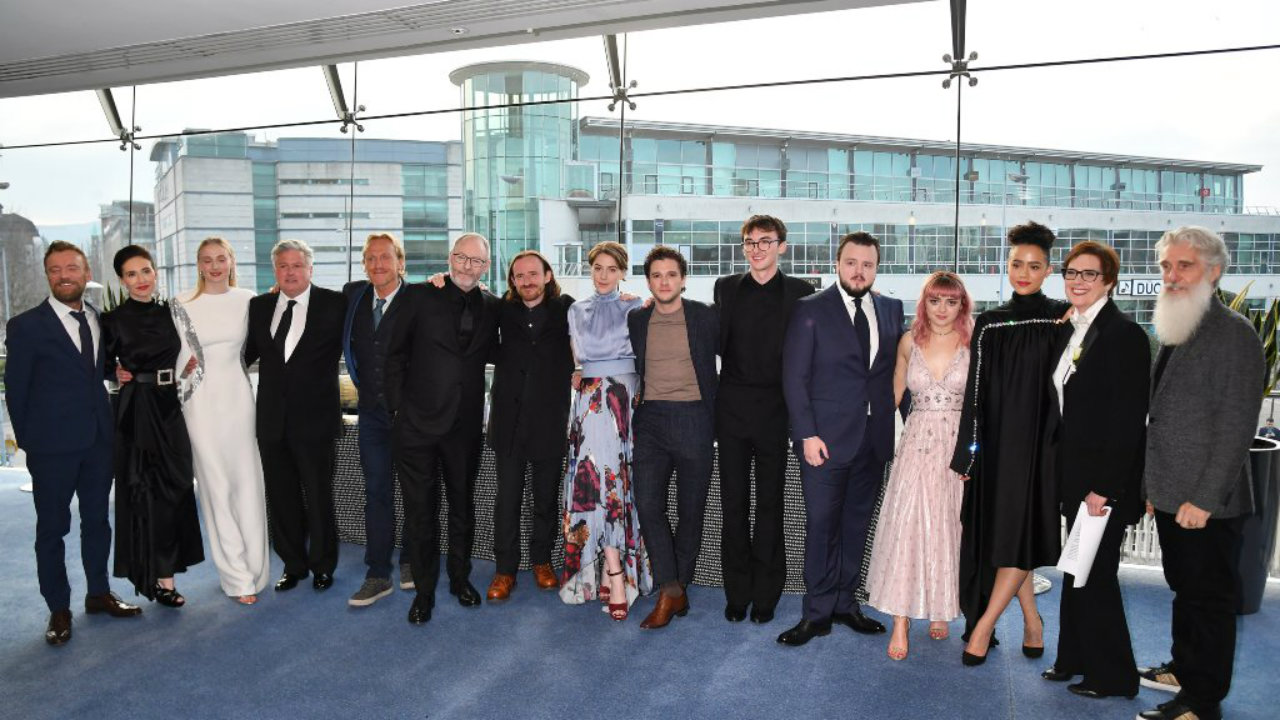 Game of Thrones' final season premiered on April 14. The HIT HBO series has a large ensemble cast, and the lead actors are paid million per episode. (Image: Reuters)