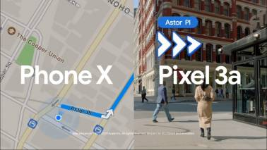 Google pokes fun of Apple's iPhone X, flaunts Night Sight and Maps AR on Pixel 3a