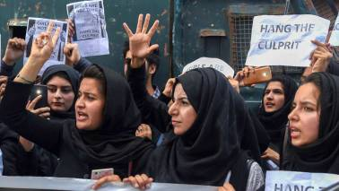 3-year-old brutally raped in J&K: Mother, protesters seek death penalty for 20-yr-old accused
