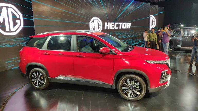 Mg Motor Launches Suv Hector In India Moneycontrol Com