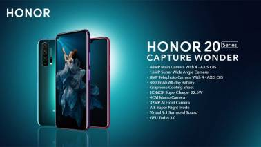 Honor 20 Pro announced with five cameras and punch-hole display: Price, specs, features