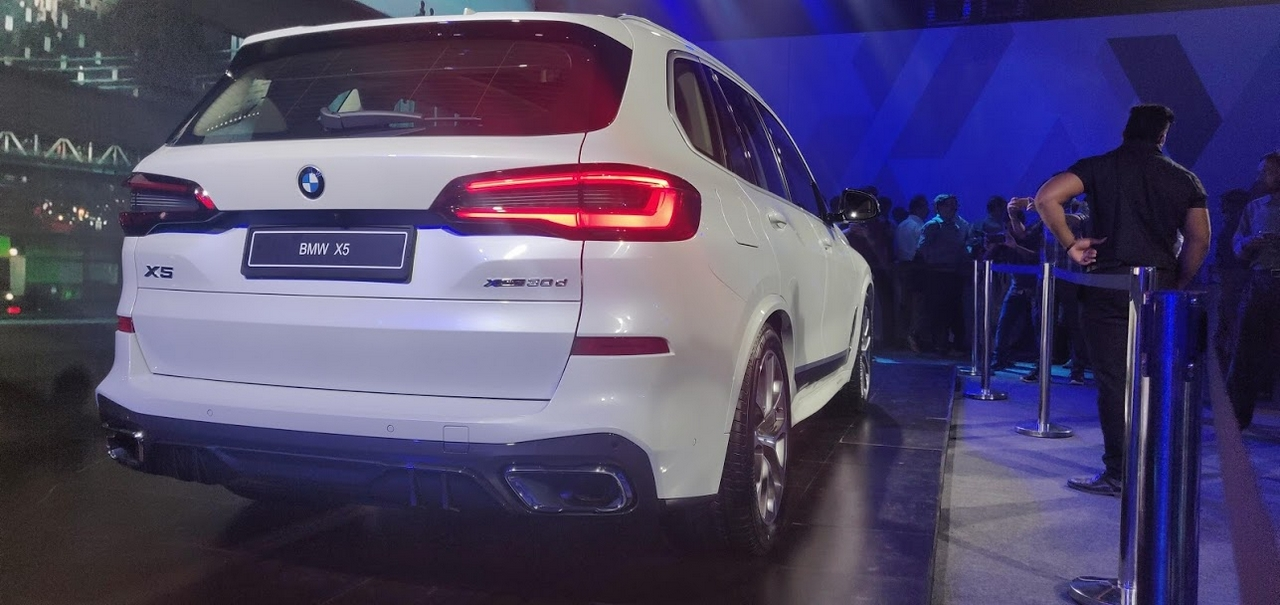 BMW also updated the X5's posterior, giving it a redesigned LED tail light setup. (Image: Moneycontrol)