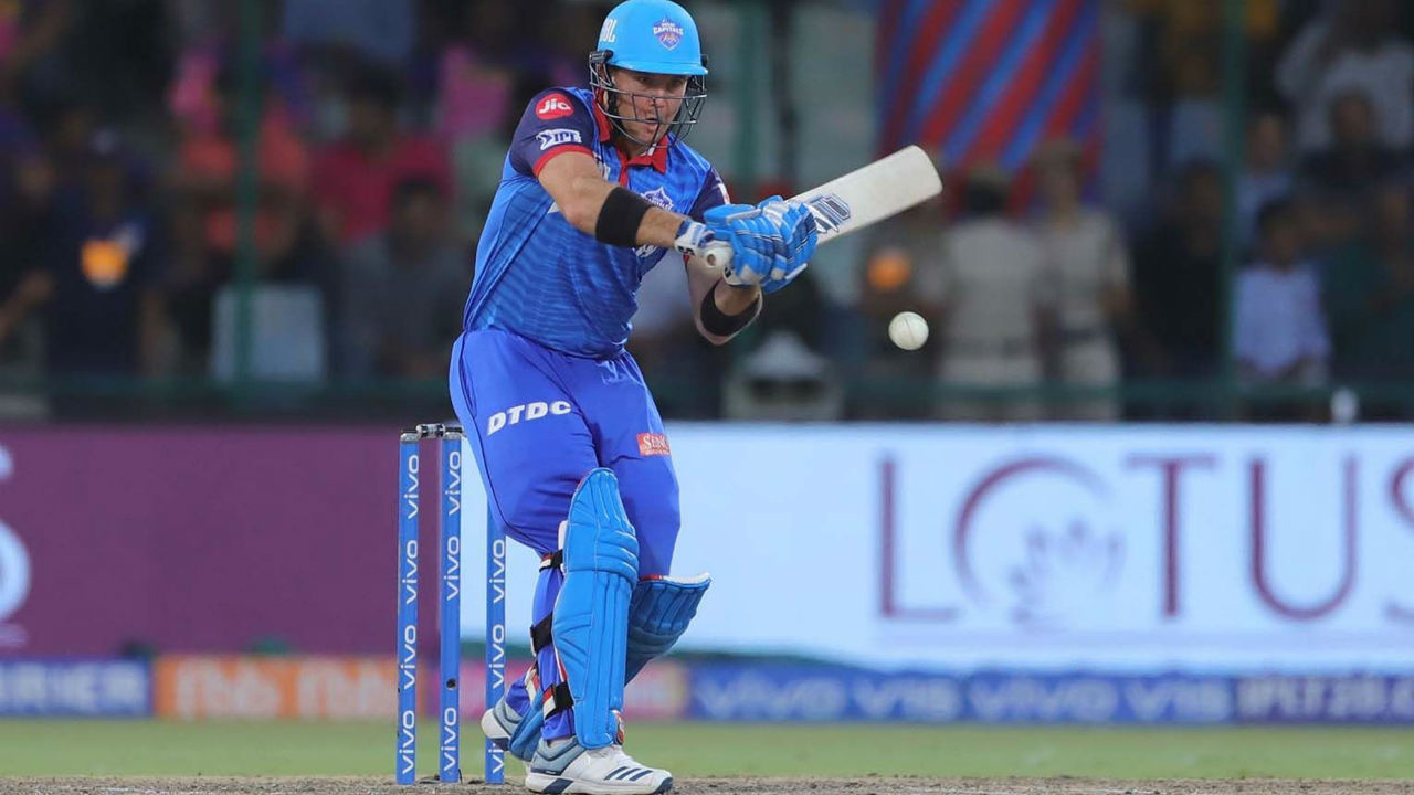 After the departure of his skipper from the middle, Colin Ingram spent some time in the middle as he played a sedate innings of 12 from 23 balls. Ingram became Sodhi's third victim of the evening. DC were 83/4 at fall of Ingram's wicket.