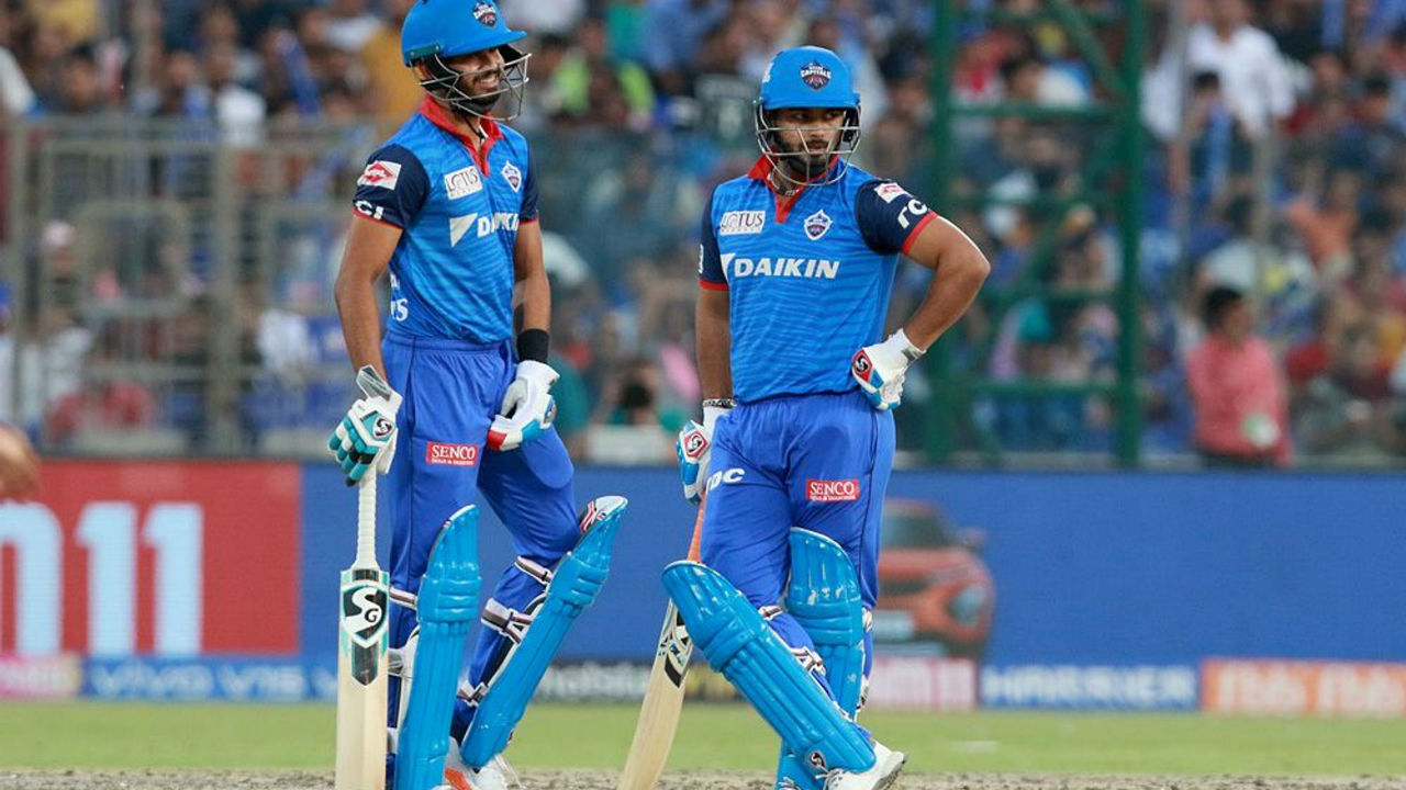 Shreyas Iyer then along with Rishabh Pant put together a 33-run partnership to stabilize Delhi's chase. Shreyas was then dismissed by his namesake in the eight over. The DC skipper made 15 from 9 balls. DC were 61/3.