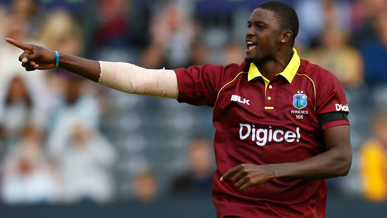 Jason Holder (West Indies) |Playing role: Bowling allrounder |Stats: Matches: 95 | Runs: 1574 | Highest: 99* | Batting Average: 26.23 | Batting Strike Rate: 93.57| 100s/50s: 0/8 |Wickets: 121 |Best Bowling: 5/27 | Bowling Average: 34.01 | Economy: 5.54 | Bowing Strike Rate: 36.70 |5w: 2 (Image: Reuters)
