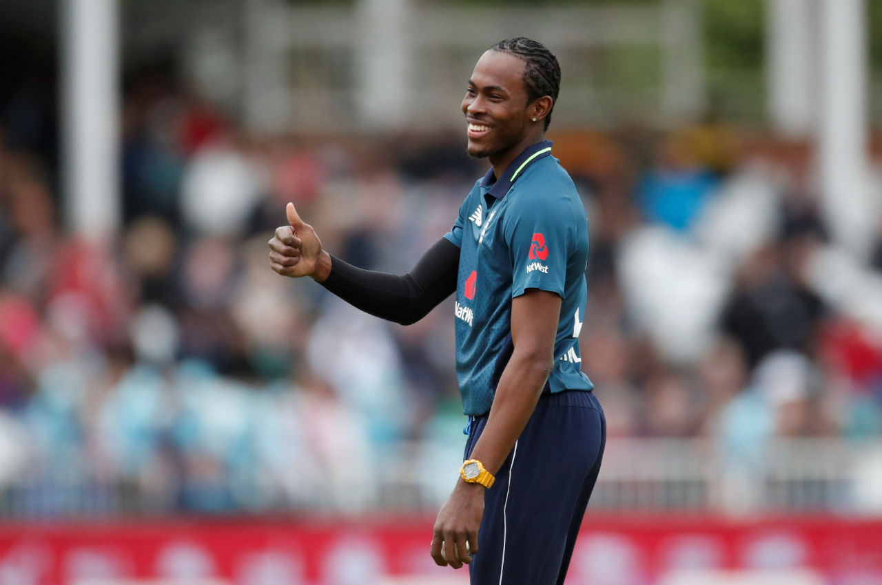 Jofra Archer (England)   A late entrant into the English World Cup squad, Archer has played just 3 ODI matches for England. He has been impressive all around the globe while representing various franchises and England will hope he carries that form onto the World Stage. (Image: Reuters)