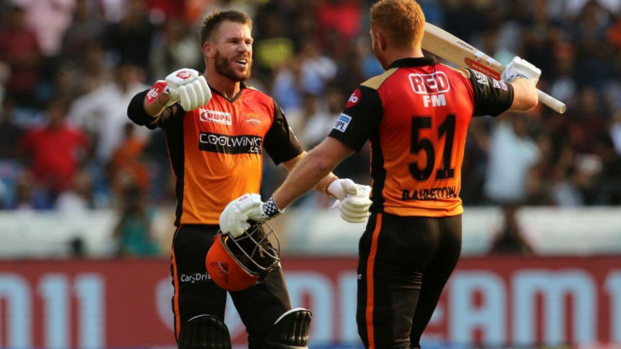 Jonny Bairstow-David Warner partnership | IPL 2019 saw an Aussie and an Englishmen tightly hugging each other. David Warner and Jonny Bairstow enjoyed batting in each other's company and their camaraderie was appreciated world over.