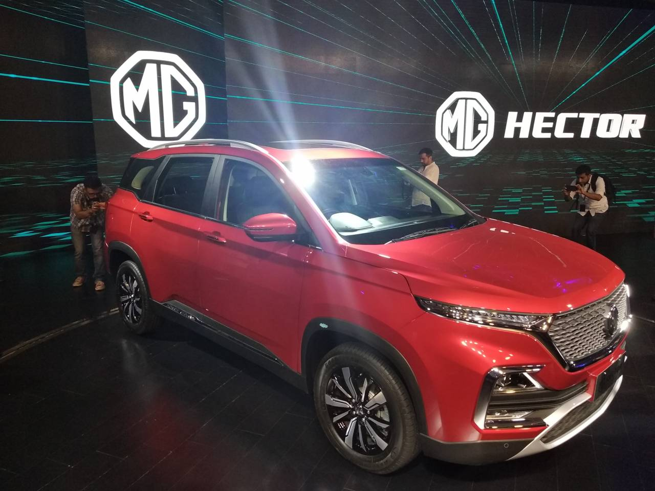 The MG Hector will compete against the Tata Harrier, Mahindra XUV500, Jeep Compass, Hyundai Creta, Nissan Kicks, Renault Captur and the upcoming Kia SP Concept. Pic courtesy: Moneycontrol