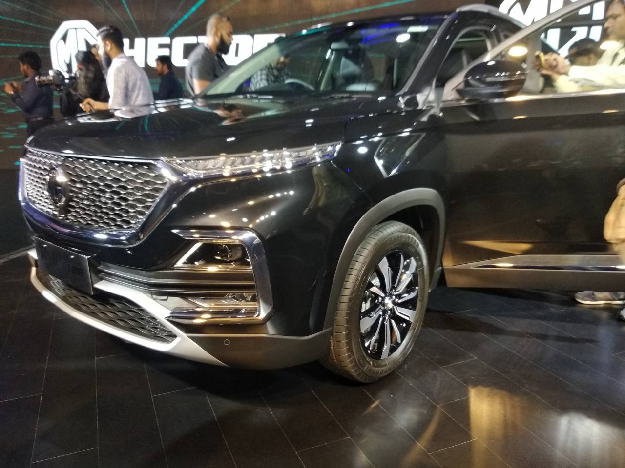 Touted by MG as India's first internet-enabled car the Hector will house a 10.4 inch head unit which will received real-time software, entertainment content and application updates making it the first car in India to get Over The Air (OTA) technology Pic courtesy: Moneycontrol