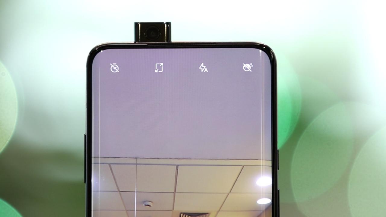 OnePlus 7 Pro pop-up camera