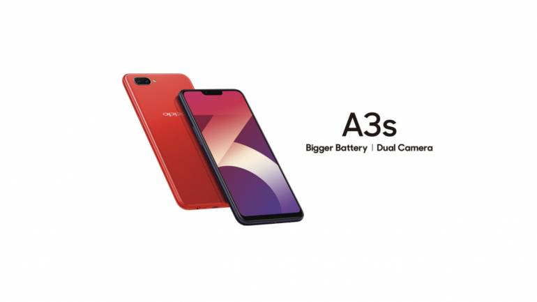 Oppo launches a new variant of A3s with 4GB RAM and 64GB storage