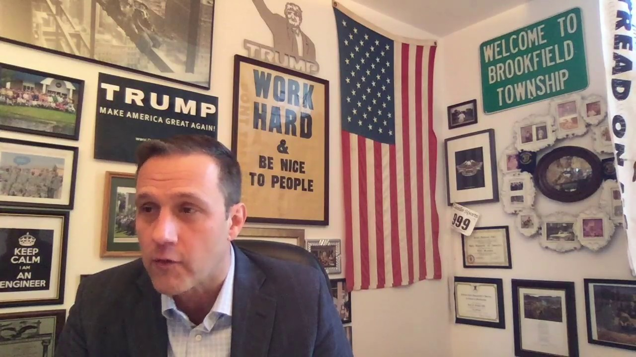 Paul Nehlen | An American politician who is an avowed white supremacist. He ran for Congress in 2018. (Image: The Rebel Media Youtube)