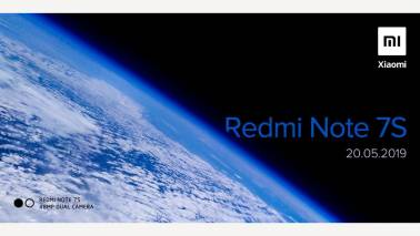 Xiaomi Redmi Note 7S with 48-megapixel camera set to launch in India on May 20
