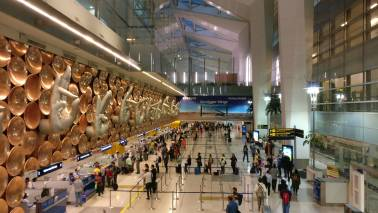 Four cafeterias in Delhi Airport built entirely of scrap material