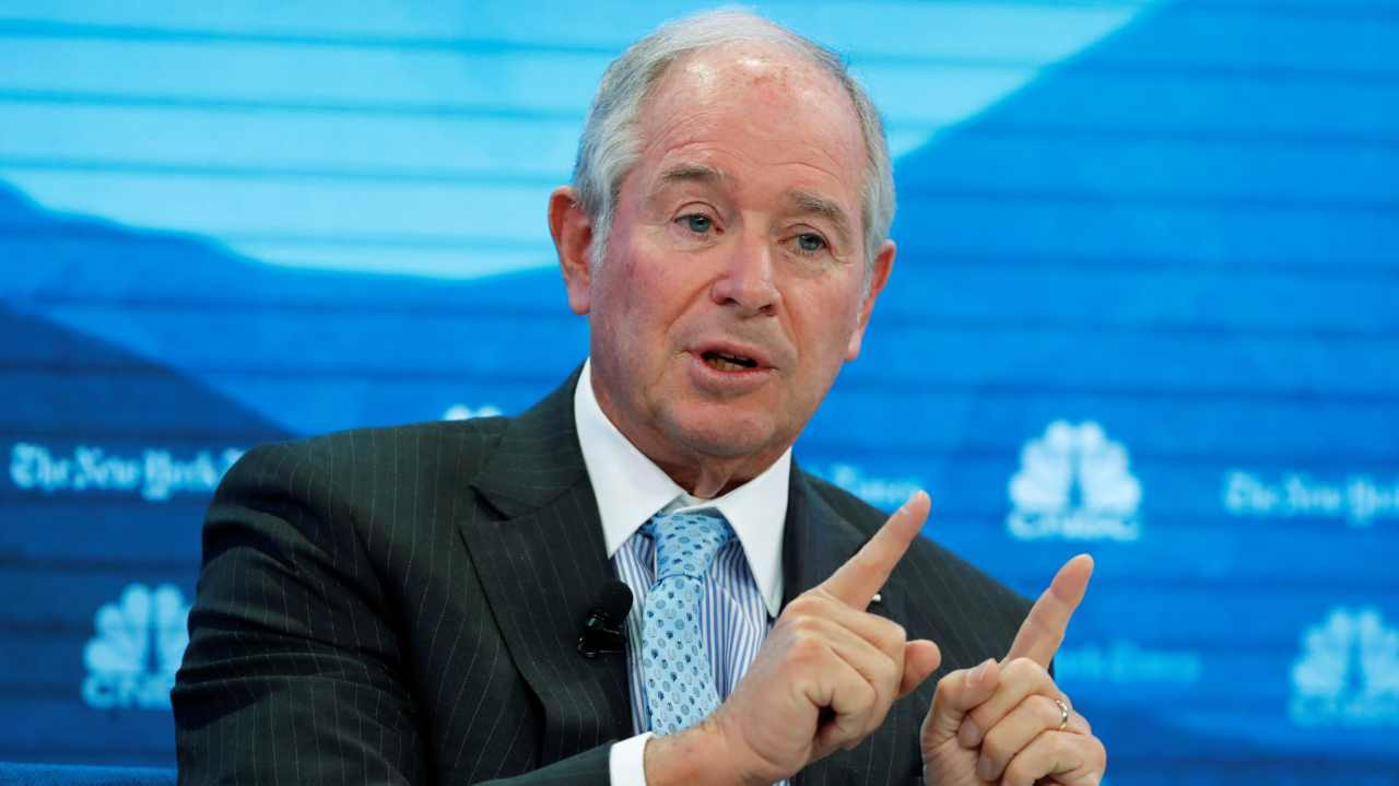 Stephen Schwarzman, Blackstone Group LP | He is the CEO/chairman of Blackstone Group and his compensation in 2018 was $69.14 million. (Image: Reuters)
