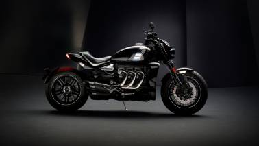 Triumph Motorcycles unveil 2,500 cc Rocket III TFC - here are some pictures