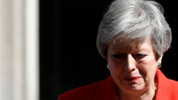 Race to succeed UK PM Theresa May centres on 'no deal' Brexit battle