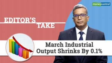 Editor's Take | March industrial output shrinks by 0.1%