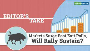 Markets surge post exit polls, will rally sustain?