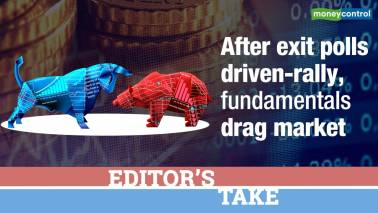 Editor's Take | After exit polls driven-rally, fundamentals drag market