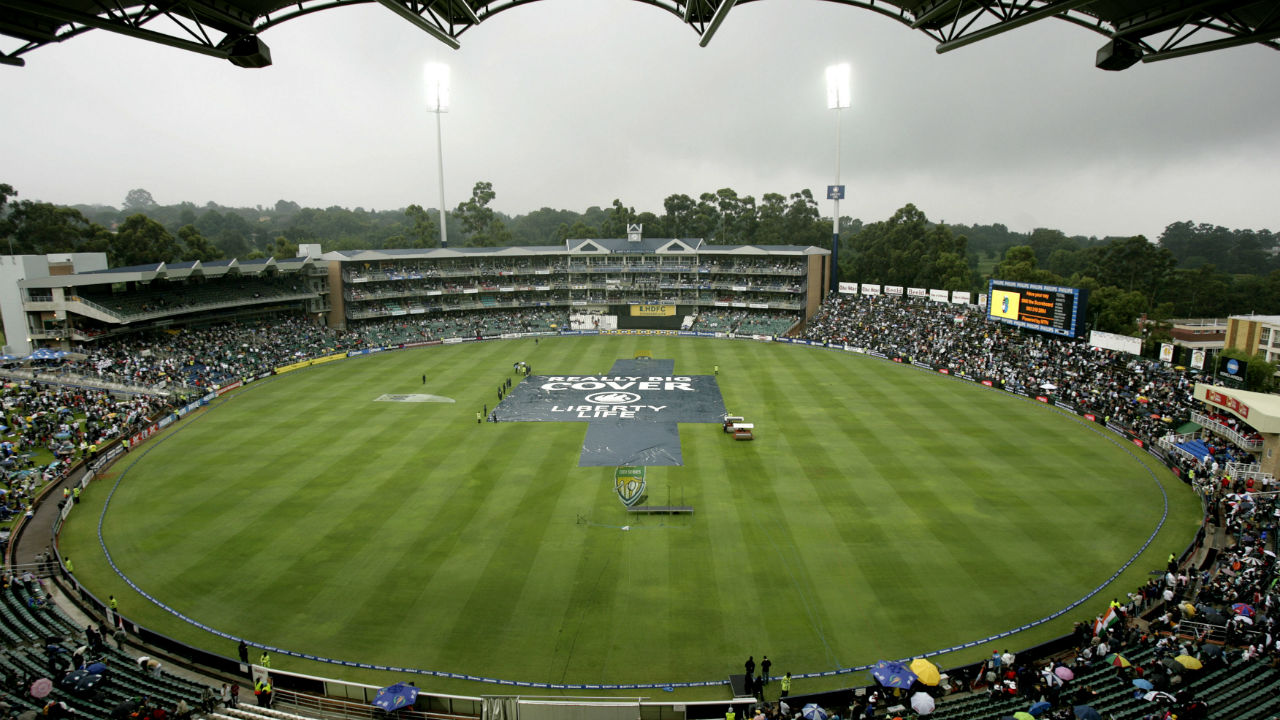 Wanderers Cricket Stadium, Johannesburg (Final: 2003) | Established: 1956 | Capacity: 28,000 | Fact: In October 2003, a fire charred the entire clubhouse of the ground. The fire left very little behind. Among the memorabilia gutted was the bat with which Graeme Pollock scored 274 against Australia in 1966-67. (Image: Reuters)