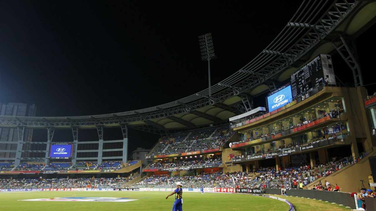 Wankhede Stadium, Mumbai (Final: 2011) | Established: 1974 | Capacity: 32,000 | Fact: In a Test between India and West Indies back in 1974, there was an instance of crowd disturbance. A fan had rushed onto the ground to greet Clive Llyod and the was treated roughly by the police. There was mayhem and an hour-and-a-half's play was lost. (Image: Reuters)