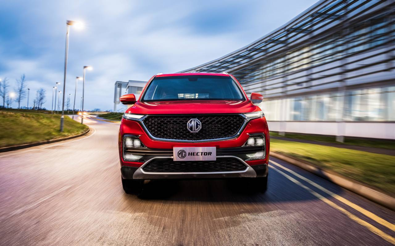 The mid-size SUV will be made at the Halol plant in Gujarat which was formerly the General Motors plant that was taken over in mid 2017. Pic courtesy: MG