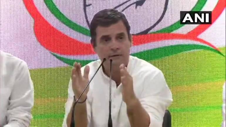 Rahul Gandhi says will visit J&K, don't need Guv's aircraft