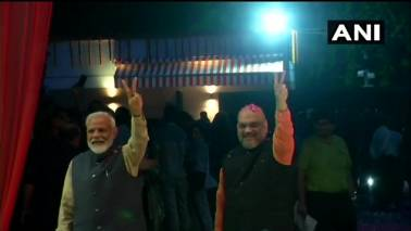 Lok Sabha Election Results 2019 LIVE Updates | PM Modi arrives at BJP HQ in Delhi after historic win