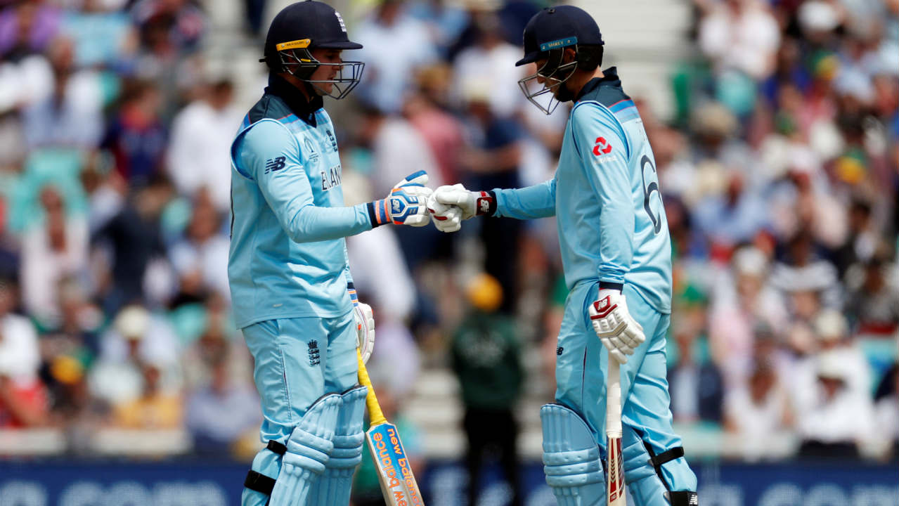 Jason Roy and Joe Root then steadied the England innings with a brilliant 106-run partnership. Both batsmen brought up their respective fifties during the second-wicket stand but then departed in quick succession. Andile Phehlukwayo got Roy caught out in the 19th over and Kagiso Rabada sent back Root in the next over. England were down to 111/3 when Root walked back. (Image: Reuters)