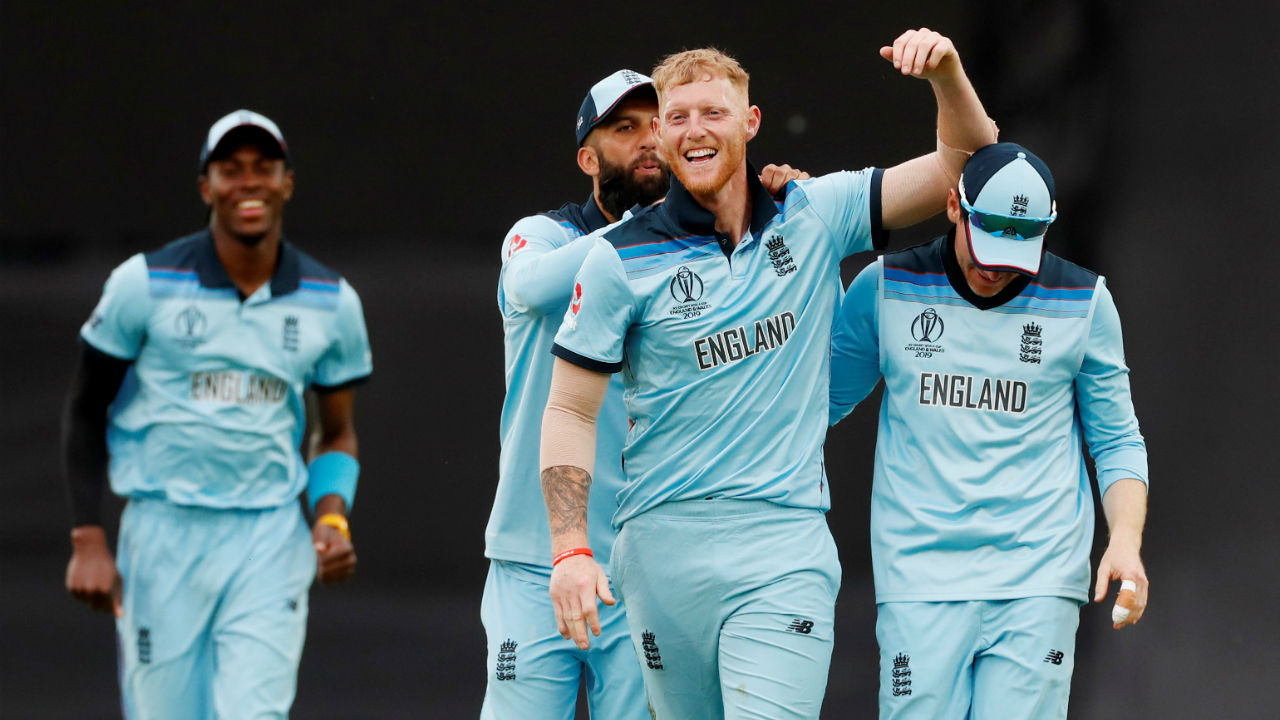 Stokes was then given the ball to roll his arm over. The all-rounder impressed with the ball too as he picked the wickets of Kagiso Rabada and Imran Tahir off successive balls in the 40th over to wrap up a comfortable 104-run win for the hosts. (Image: Reuters)