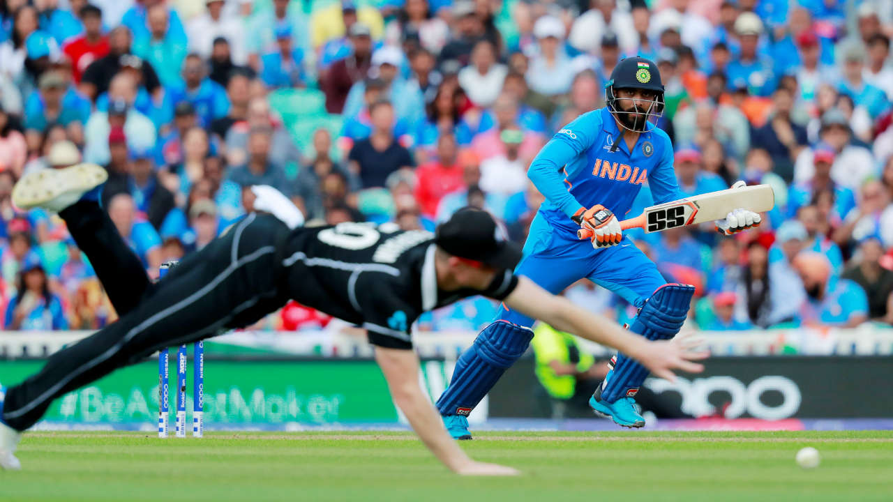 Ravindra Jadeja was the only shining light with the bat as he brought up his half-century in the 38th over. He shared a 62-run stand with Kuldeep Yadav (19) for the ninth wicket as India could only manage 179 before being bundled out. Boult was the most impressive bowler finishing with figures of 4/33. (Image: Reuters)