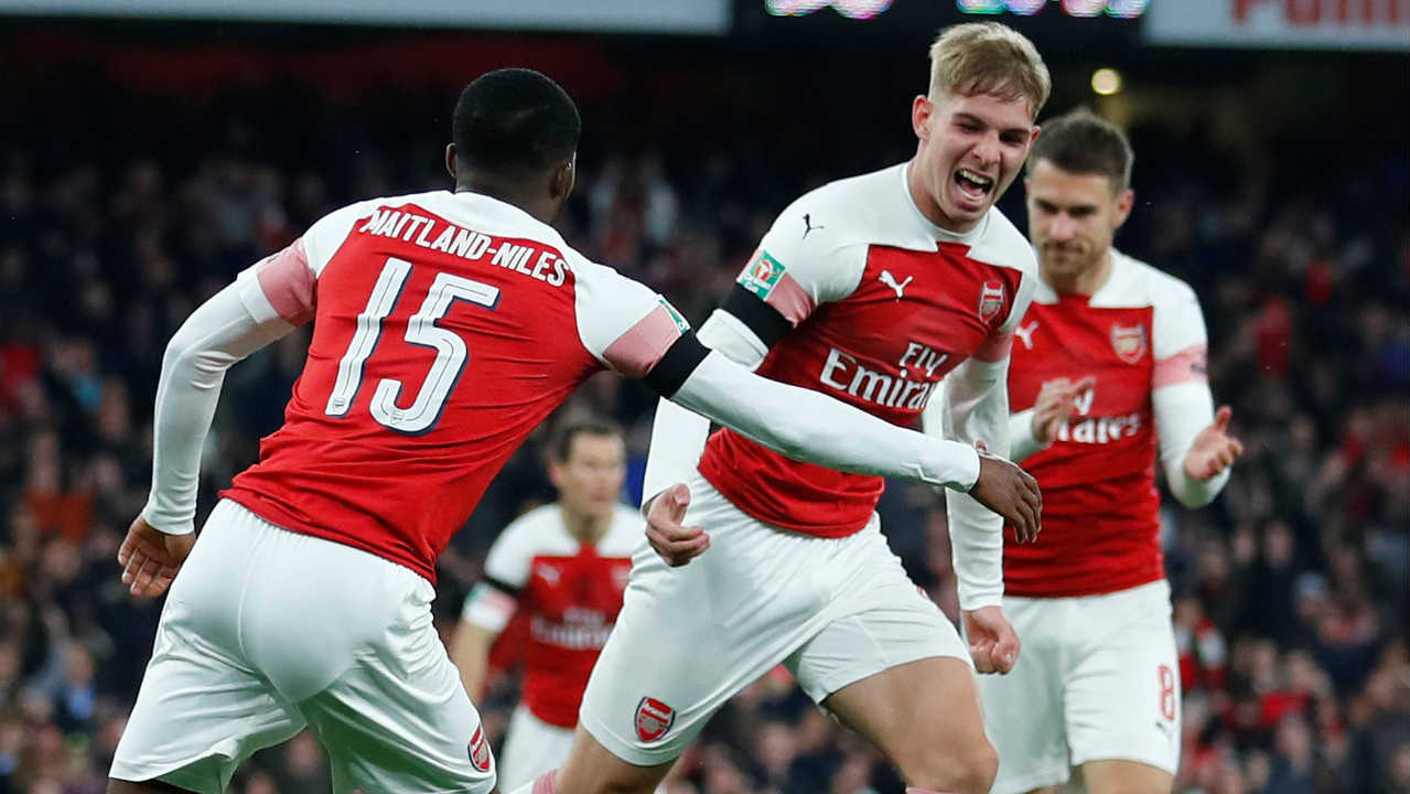 Arsenal | The Gunners sailed through the group stage of the Europa League finishing unbeaten with 5 wins and 1 draw. The group stages were most memorable for the impressive performances from their youngsters who were given ample opportunities to perform. Emile Smith Rowe and Joe Willock were the two youngsters who showed great promise in the group stages. (Image: Reuters)