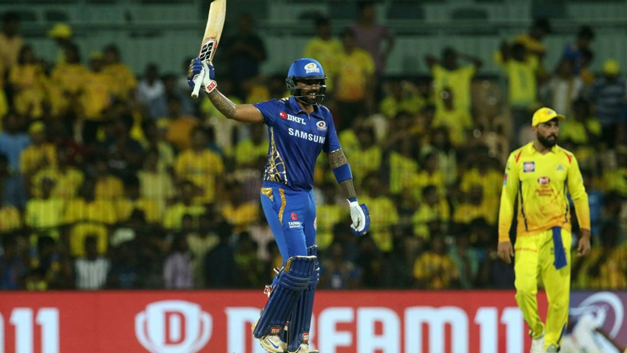 Mumbai's continued dominance over Chennai | The men in Blue defeated the men in Yellow at Chepauk in the Qualifier-I of the playoffs. This was Mumbai's third win over Chennai this season. MI is the only team to enjoy a better Head to Head win ratio over CSK. The win took MI directly to the final of IPL 2019.
