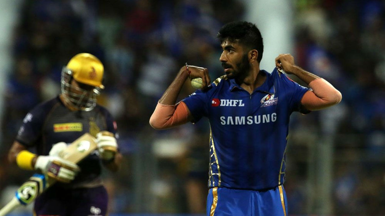 Uthappa struggled to time his shots all night and was finally dismissed by Bumrah in the final over having scored 40 off 47 deliveries. Bumrah followed that up with the wicket of Rinku Singh off the final ball of the innings. KKR could post only 133/7 after 20 overs. (Image: BCCI, iplt20.com)