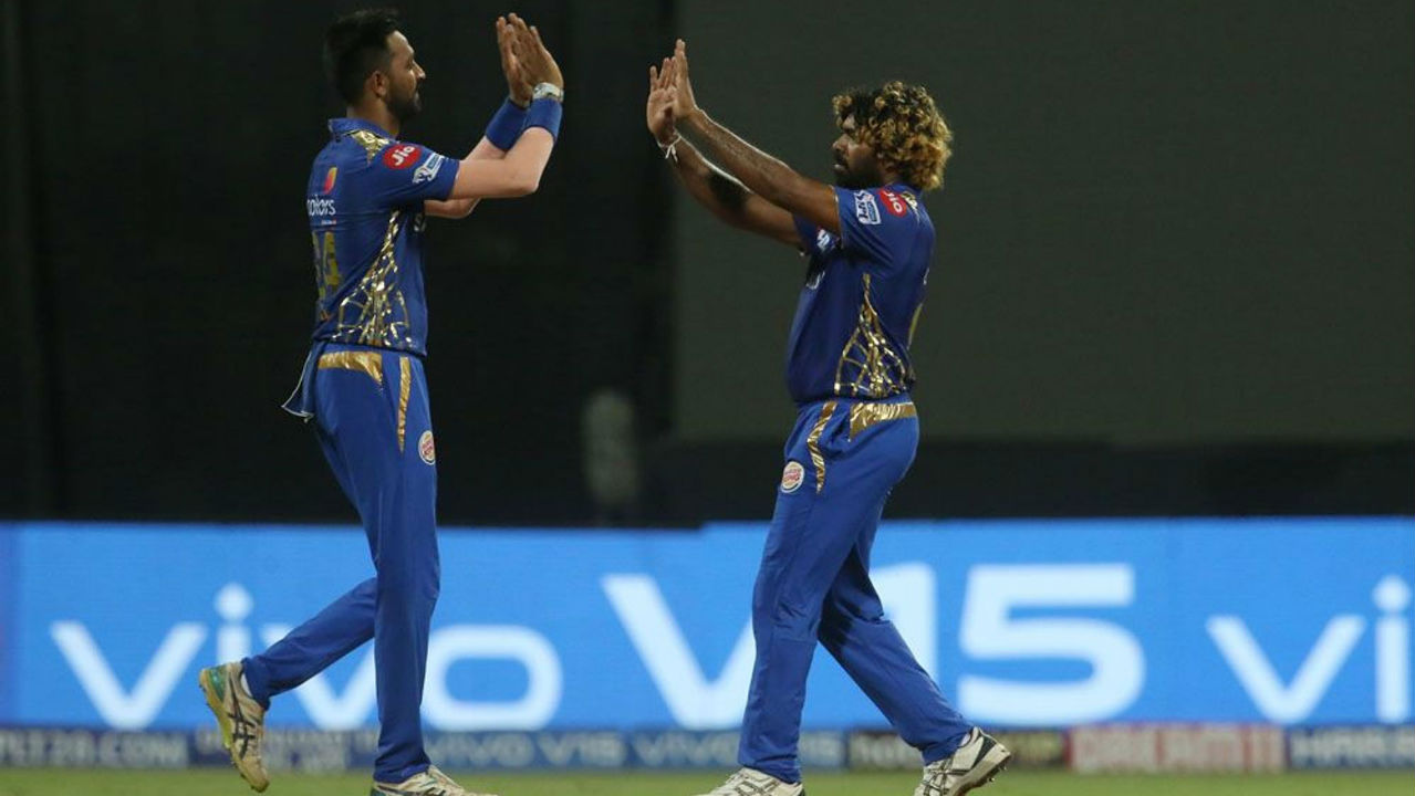 Uthappa and Nitish Rana enjoyed a decent spell scoring 47 off the next 27 balls. Malinga then returned in the 18th over and got Rana caught out at long-off. Rana returned with 26 off just 13 balls with KKR struggling at 120/5. (Image: BCCI, iplt20.com)