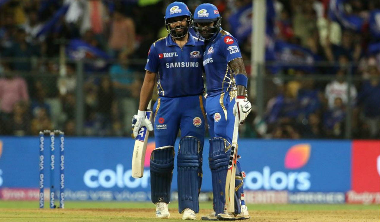 Rohit and Suryakumar Yadav then stitched together an unbeaten 88-run partnership for the 2nd wicket to take Mumbai home. Rohit brought up his fifty off 44 balls in the 15th over and finished with 55* off 48 balls. The win ensured MI finish at the top of the table while knocking KKR out with Sunrisers Hyderabad sealing the final playoff berth. (Image: BCCI, iplt20.com)