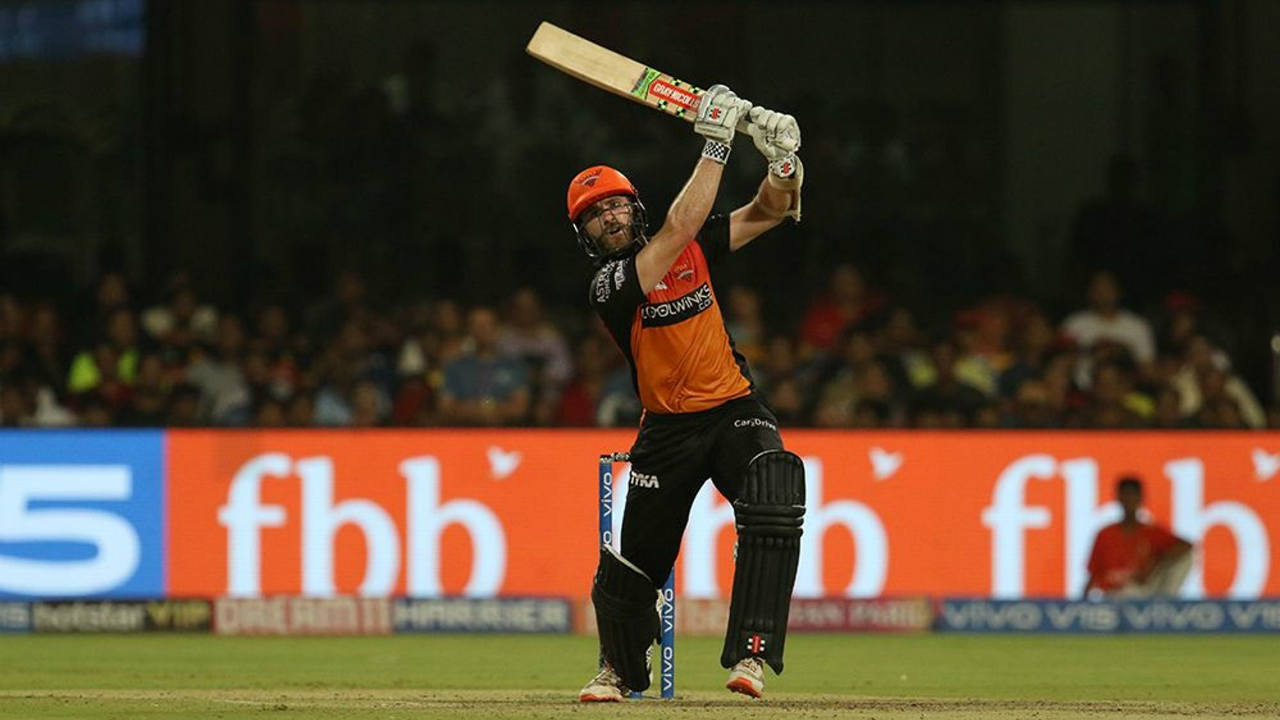 SRH were staring at a below par total as they lost both Mohammed Nabi and Rashid Khan in the span of just 4 deliveries. Navdeep Saini sent back Nabi at the end of the 17th over before Kulwant Khejroliya dismissed Rashid in the next. Kane Williamson then cut loose and hit Umesh Yadav for 6,4,6,4,nb,1 in the final over. Williamson also brought up his fifty in that over finishing with 79* off 43 balls helping SRH reach 175/5. (Image: BCCI, iplt20.com)