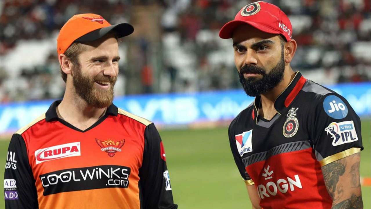 Sunrisers Hyderabad (SRH) travelled to Bengaluru needing a win against bottom-placed Royal Challengers Bangalore (RCB) to seal the final playoff berth. SRH made just one change with Yusuf Pathan replacing Abhishek Sharma. RCB made three changes with Colin de Grandhomme, Washington Sundar and Shimron Hetmyer coming into the side. Virat Kohli won the Toss and opted to bowl. (Image: BCCI, iplt20.com)