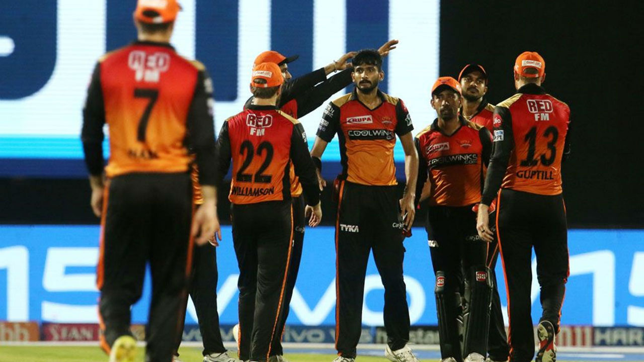 SRH fought hard with wickets towards the end and as a result the match went into the last over.