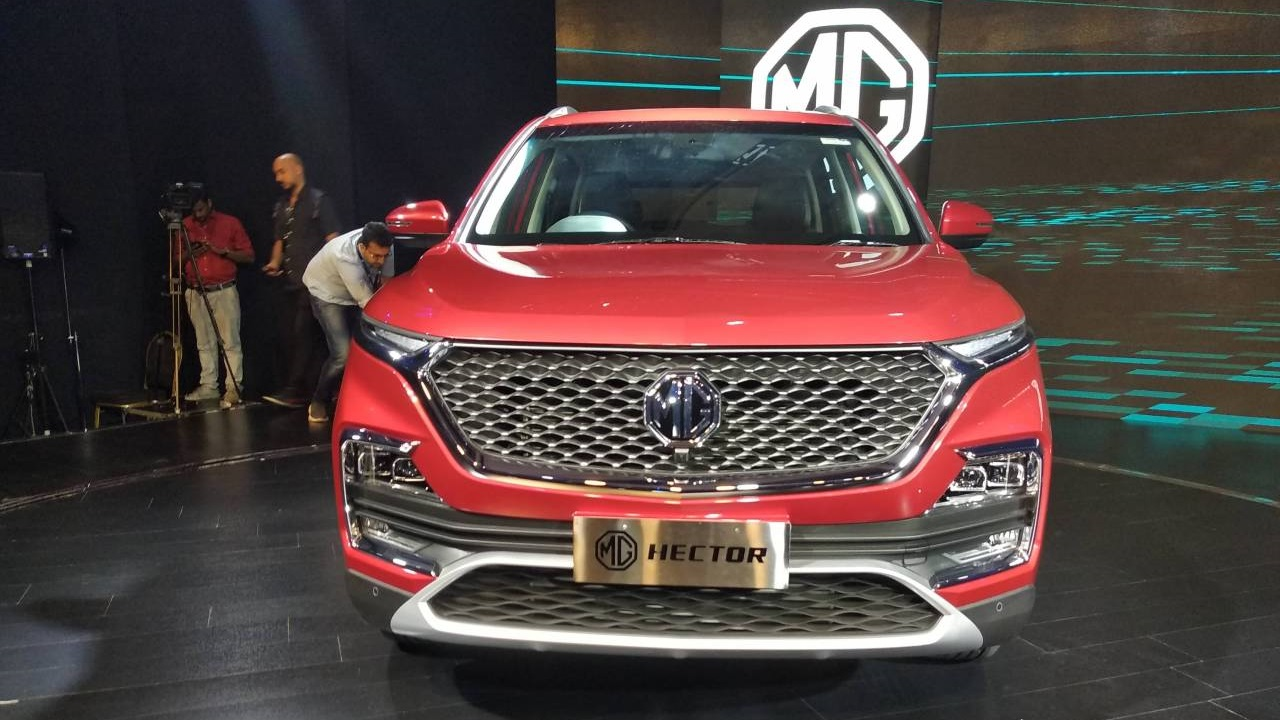 The MG Hector will be officially launched in June and is expected to be priced between Rs 13-20 lakh (ex-showroom). (Image: Moneycontrol)