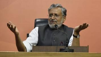 No economic slowdown, pressure tactics by companies for lower taxes: Sushil Modi
