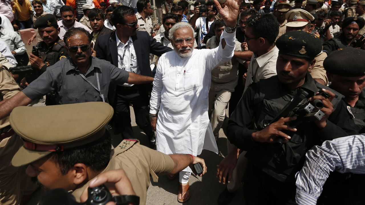 Varanasi came under limelight in 2014 after the Bharatiya Janata Party (BJP) declared that Narendra Modi will contest from the holy city as his second seat in the Lok Sabha elections. Modi, the then Gujarat chief minister, made this general election debut by contesting from both Vadodara and Varanasi parliamentary seats. (Image: Reuters)