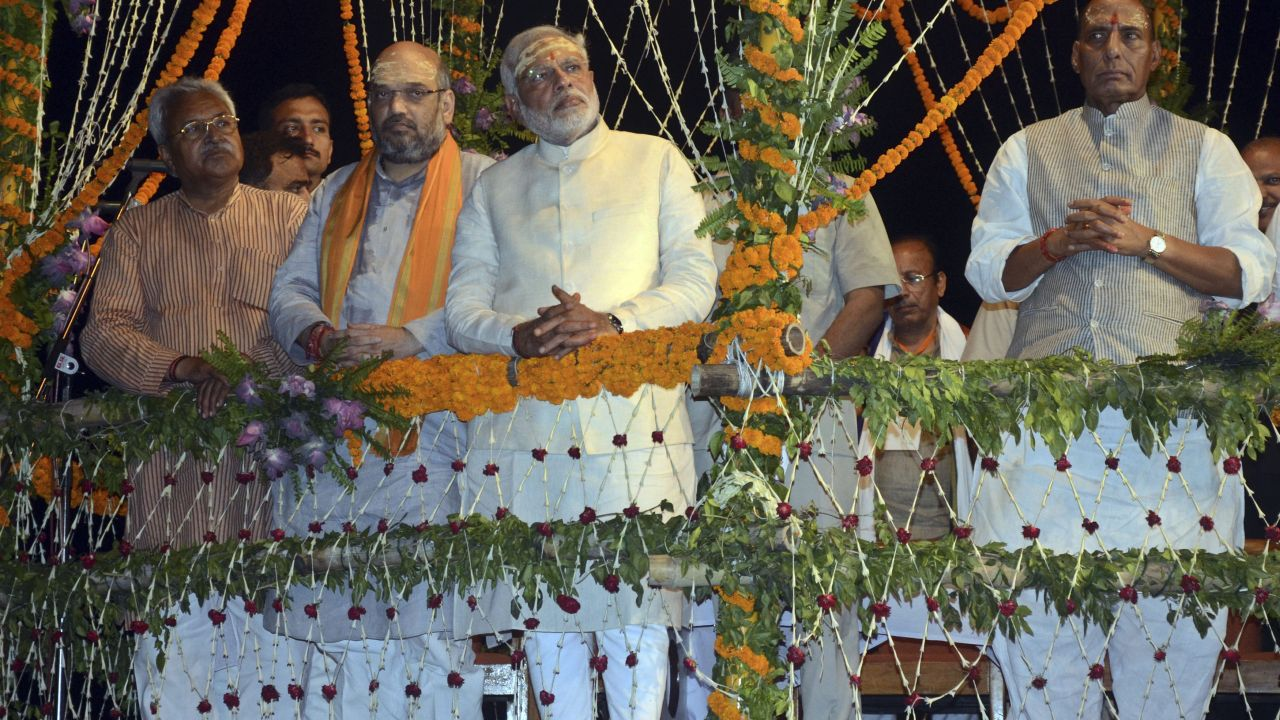 Modi, who was elected from both Varanasi and Vadodara parliamentary constituencies, vacated the latter. (Image: Reuters)
