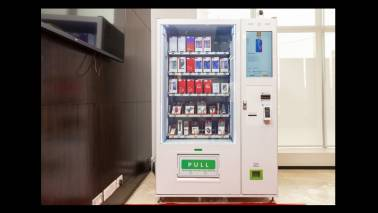 Forget cola, chips and condoms, now buy your smartphone from a vending machine