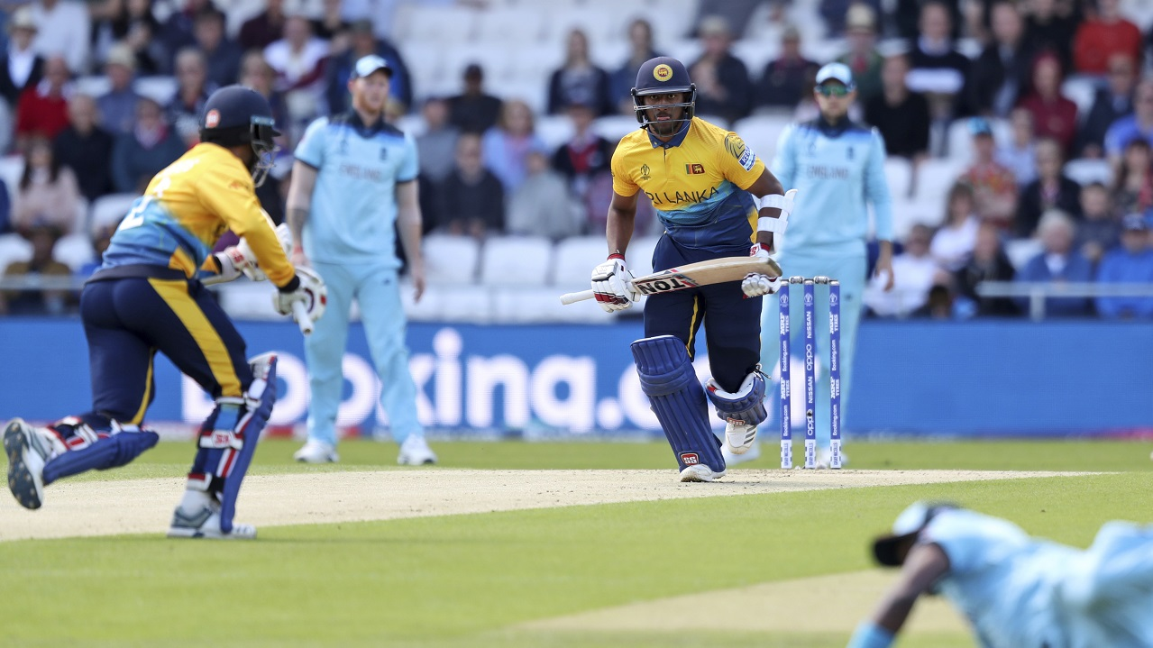 Fernando was absolutely destructive during his 39-ball stay scoring 49 runs at a strike-rate of 125.64. He hit 6 fours and 2 sixes before losing his wicket cheaply guiding a Mark Wood bouncer to third man in the 13th over. (Image: AP)