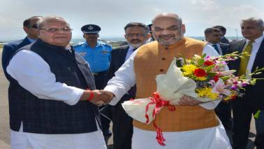 Amit Shah reviews security situation in Jammu and Kashmir on his maiden official visit