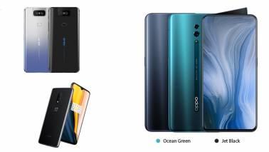 Asus 6z vs OnePlus 7 vs Oppo Reno: Specs, Price, Features comparison